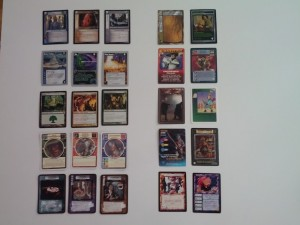 Various existing cards